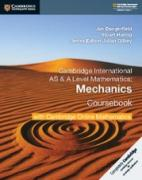 Cambridge AS & A-Level Mathematics Mechanics 1 Coursebook with Cambridge Online Mathematics